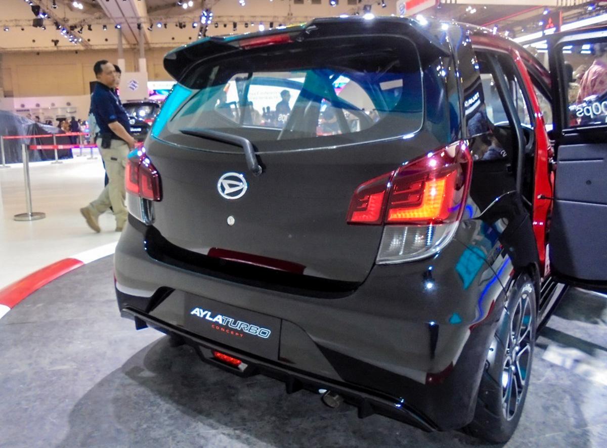 Daihatsu Ayla Turbo ,200 ps 的 Perodua Axia !