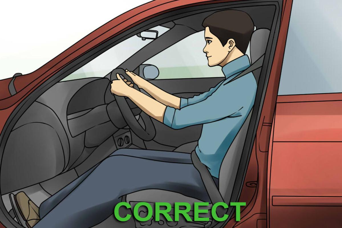 驾驶小知识:正确的 Driving Position 知多少?