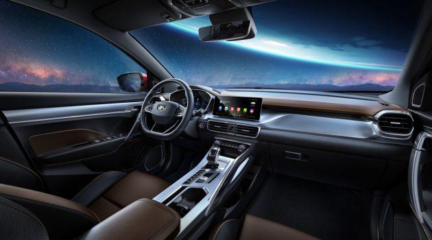 Geely SX11 公布内装照,好漂亮的座舱!