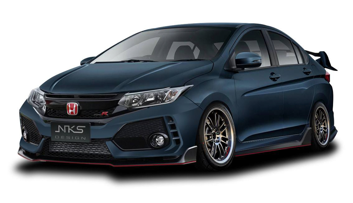 迷你 FK8! Honda City Type R 空力套件登场!