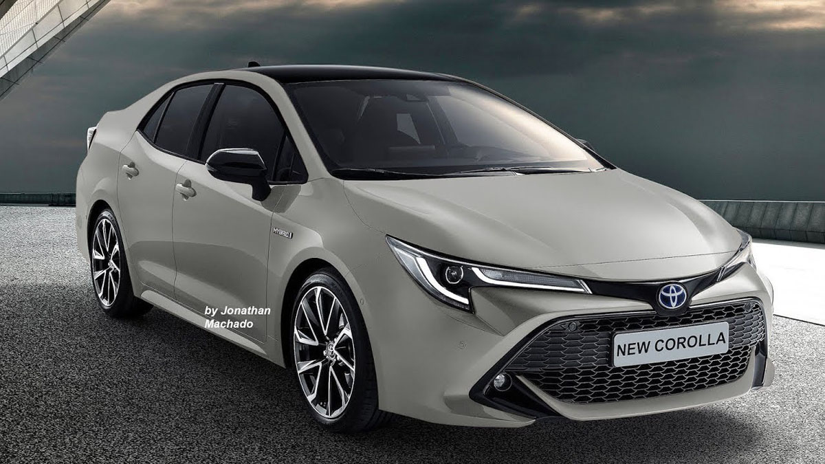 2019 Toyota Corolla Sedan 内装曝光!这个内装我可以!
