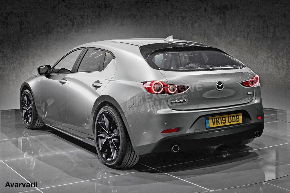 9月开始投入生产!新一代 Mazda3 要来了?