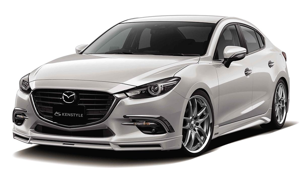 更添帅气! Mazda3 Kenstyle 专属空力套件登场!