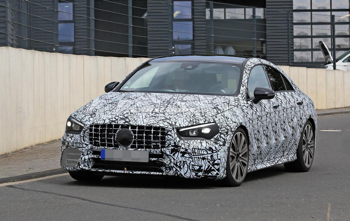 新一代 Mercedes-AMG CLA 45 4秒内完成 0-100!