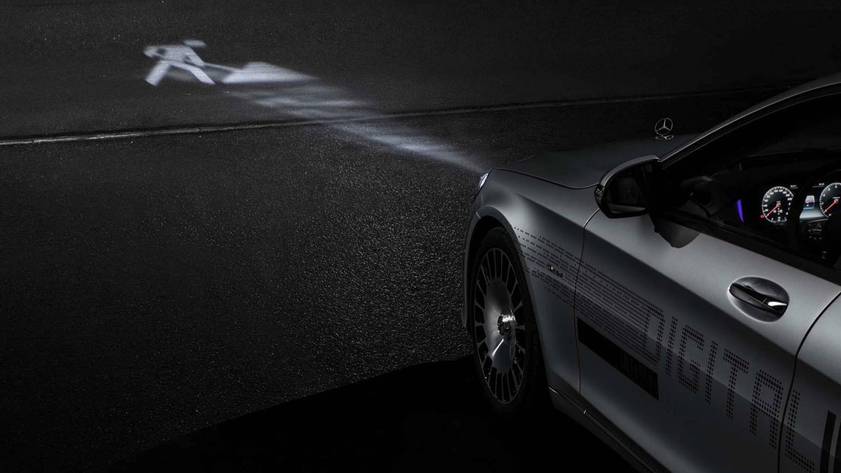 Mercedes-Benz Digital Light 投产,科幻片情节成真!