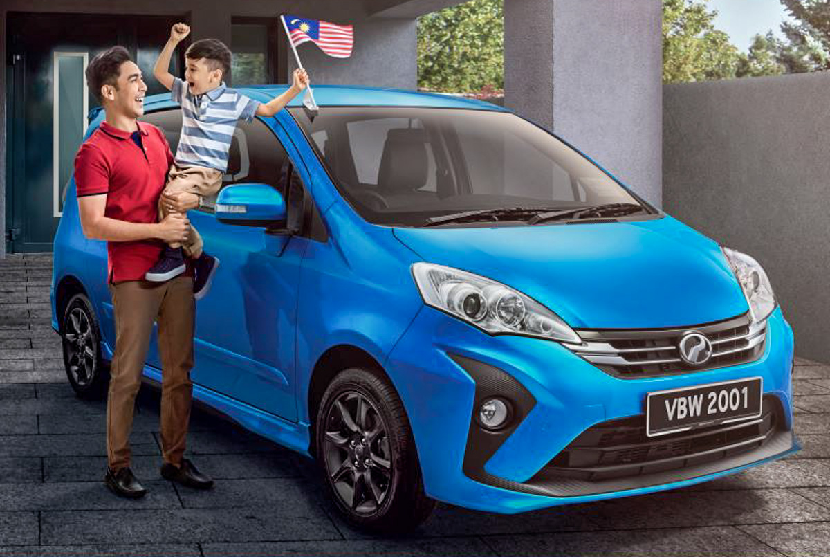 宣传图曝光, 2018 Perodua Alza 真的长这样!