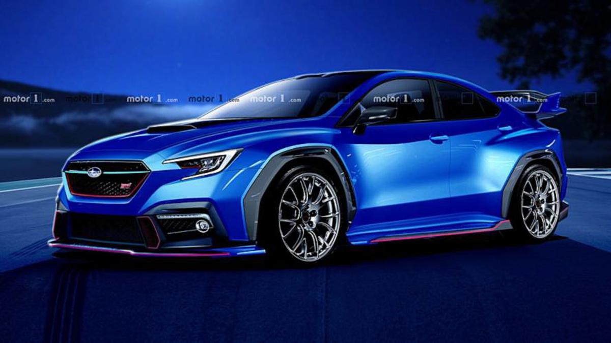 街头霸王再进化!新一代 Subaru WRX 长这样?