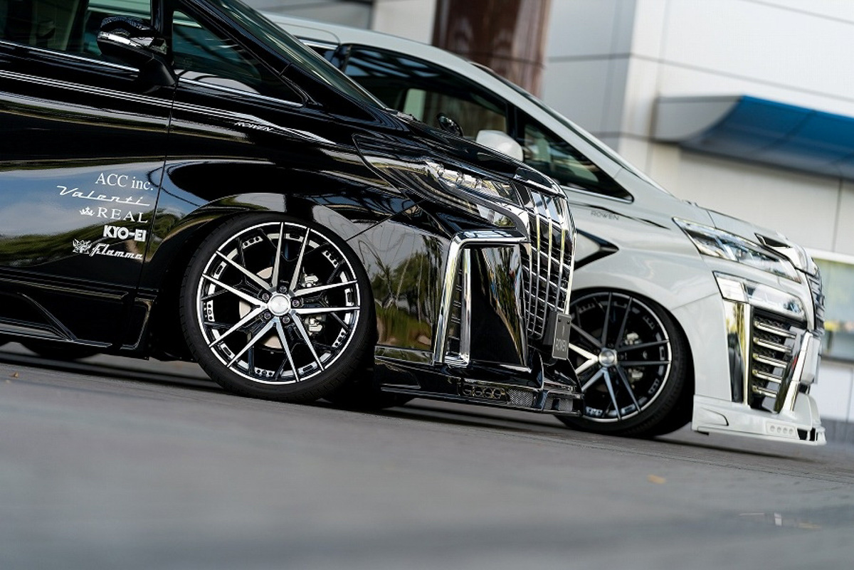 Toyota Alphard ROWEN 空力套件,霸气逼人!