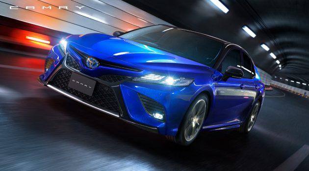 日规 Toyota Camry 2018 扩大阵容,追加帅气运动版!