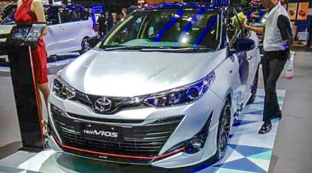 Toyota Vios 2018 TRD 运动套件亮相印尼车展!