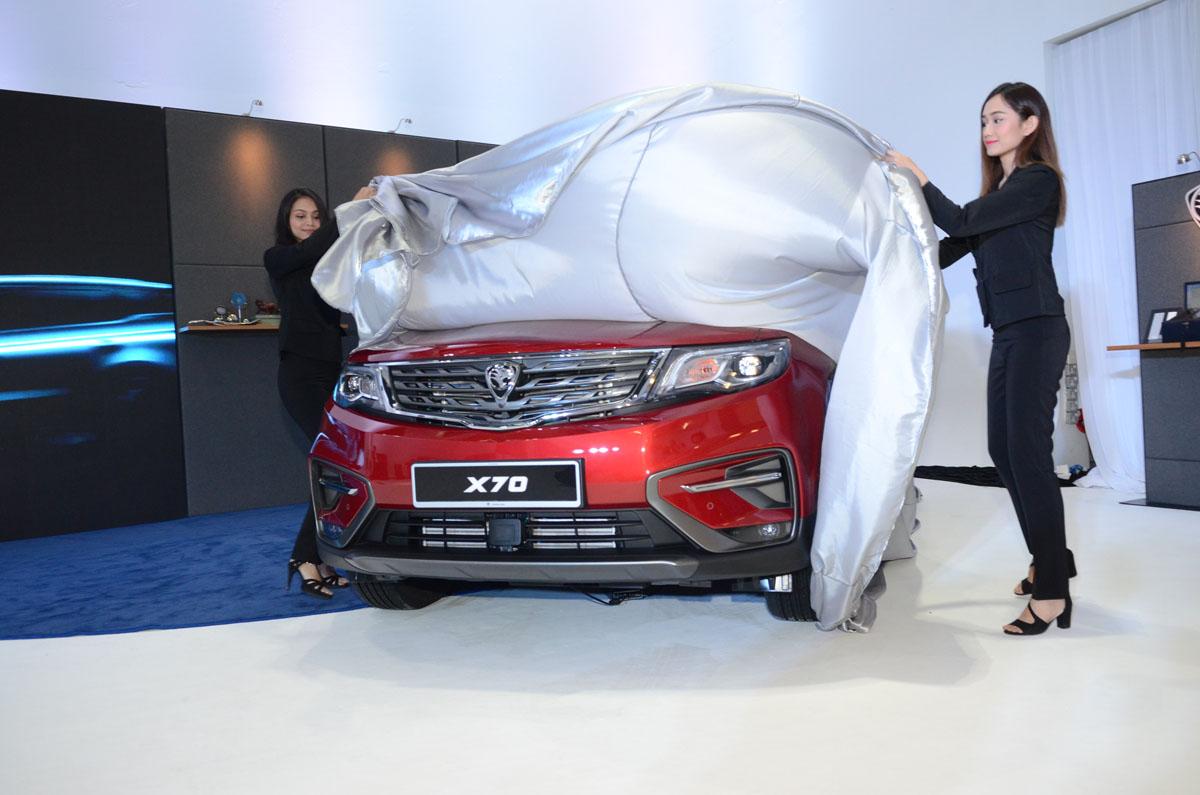 Proton X70 实车现身!未来将全马跑透透!