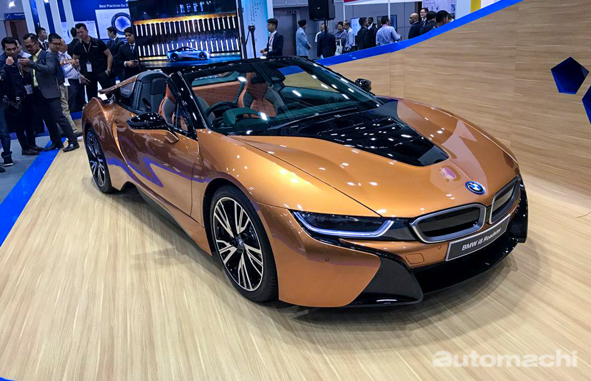 2018 BMW i8 Roadster 登陆我国,售价 RM 1,508,800 !