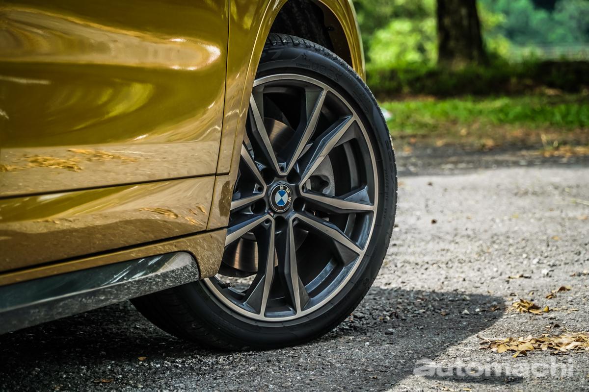 2018 BMW X2 sDrive20i ,说是掀背更合适!