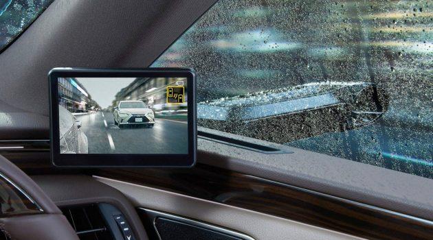 摄像头取代镜子, Lexus ES 将导入电子后视镜!