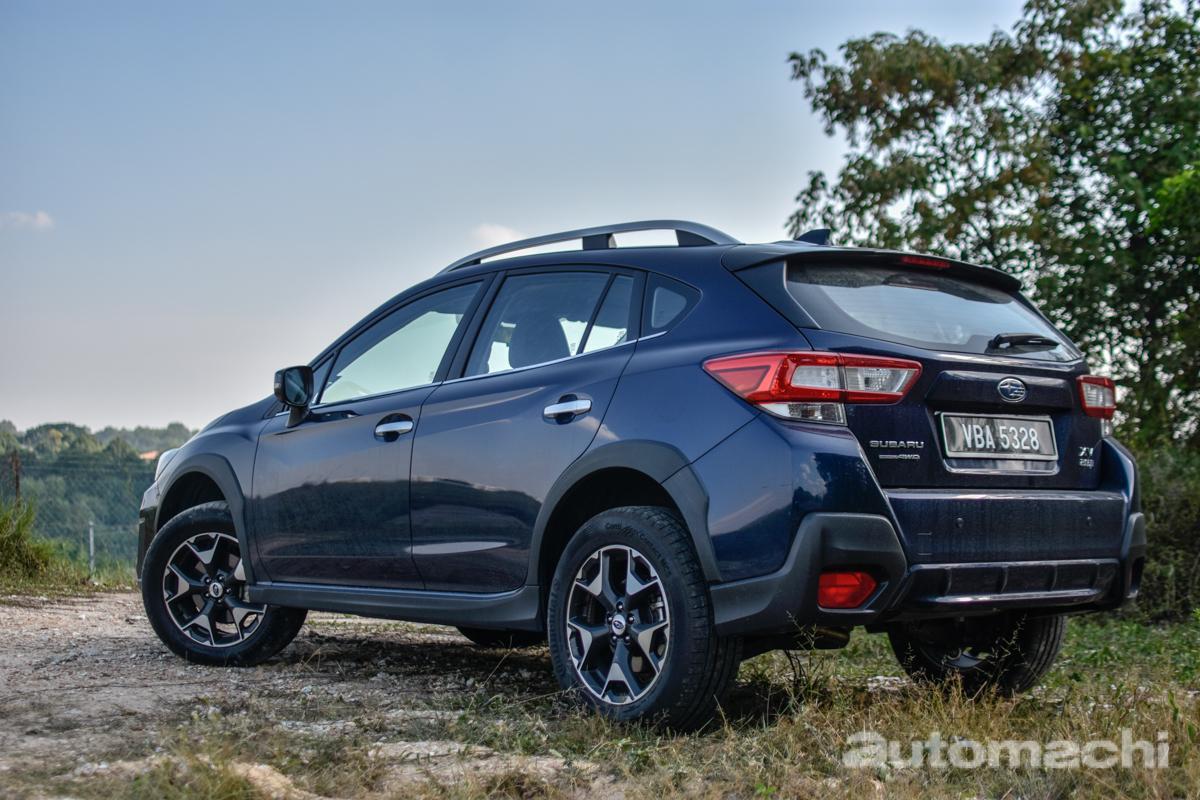 2018 Subaru XV ,越野小悍将!