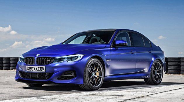 2019 BMW M3 长这样?动力表现更强悍!