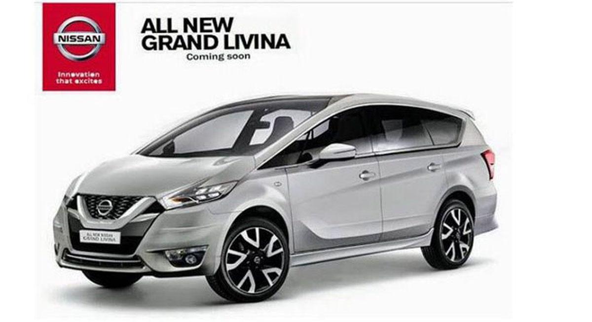 2019 Nissan Grand Livina 明年初登场,不知道我国会有吗?