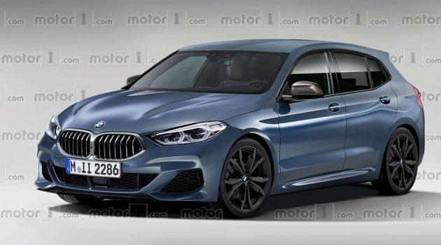 外观成形, 2019 BMW 1 Series 再度曝光!
