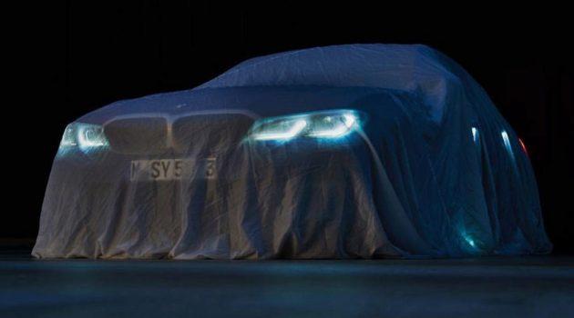 车展前夕曝光, BMW 3 Series G20 隔着薄纱现身!