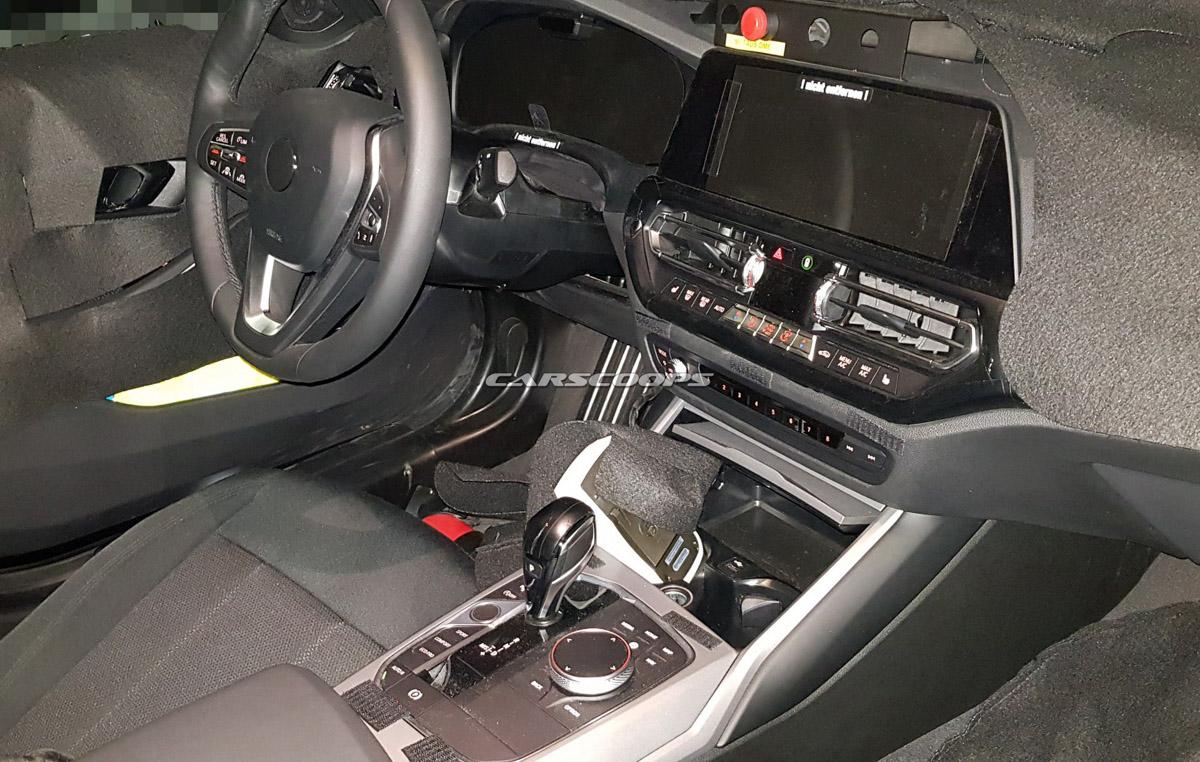 更为精致,新一代 BMW 3 Series 内装再度曝光!