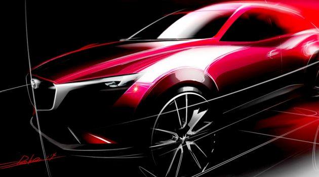 车身有所增长,新一代 Mazda CX-3 2020年登场!