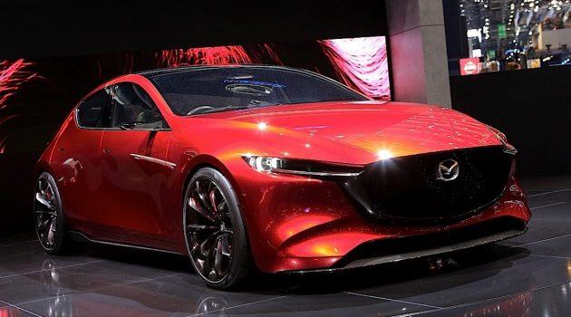 职员率先预览, 2019 Mazda3 外观细节曝光!