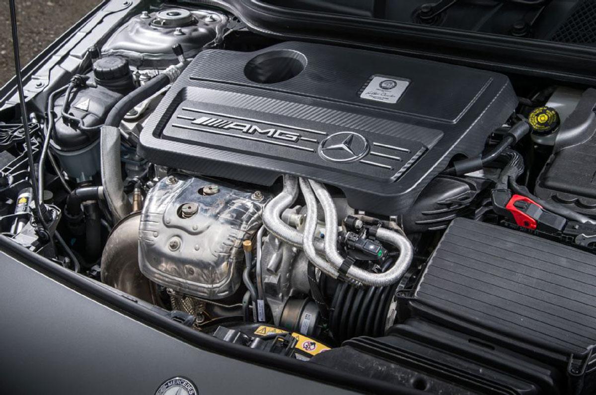 Mercedes-AMG A35 引擎数据曝光,最大马力达335 hp!