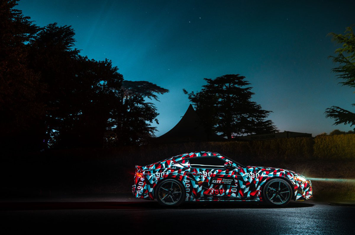 Toyota Supra A90 规格确定,3.0双涡轮,0-100低于5秒!