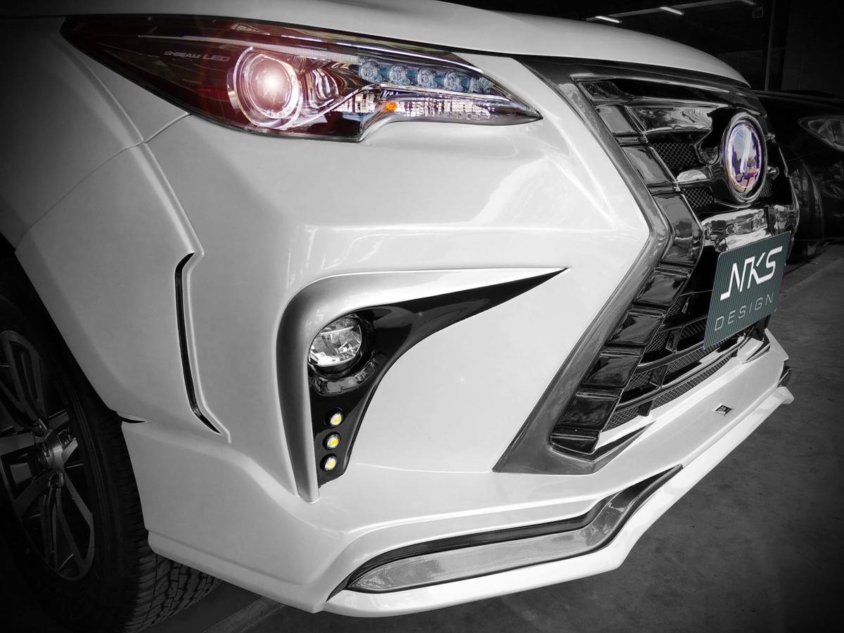 Toyota Fortuner 仿 Lexus 套件霸气登场!