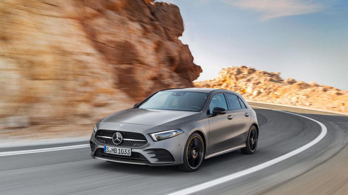 Mercedes-Benz A class W177 确定10月18日正式发布!