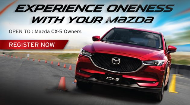 MazdaSports Academy 举办驾驶课程,专为 CX-5 车主而设!
