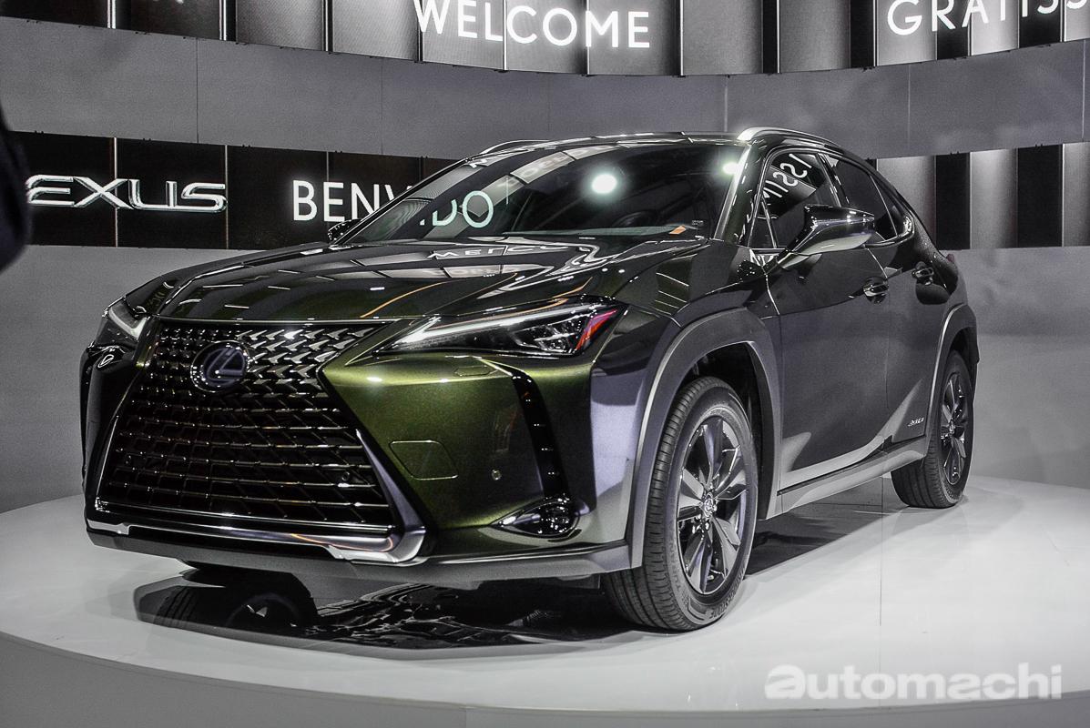 2018 Lexus UX ,专门为年轻人打造的Crossover