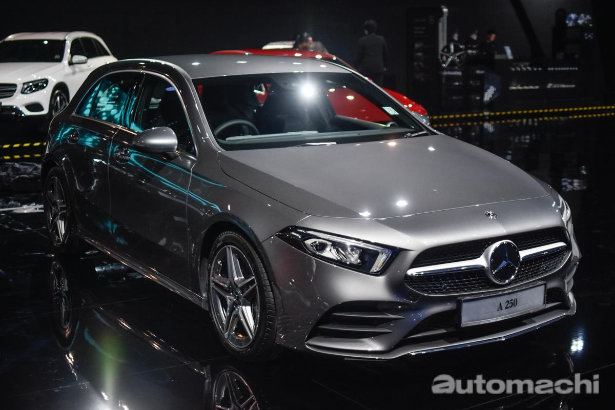 2018 Mercedes-Benz A-Class 正式发表,售价 RM 227,888 !