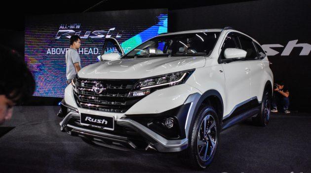 2018 Toyota Rush 正式发表,预计价格从RM 93,000起跳!
