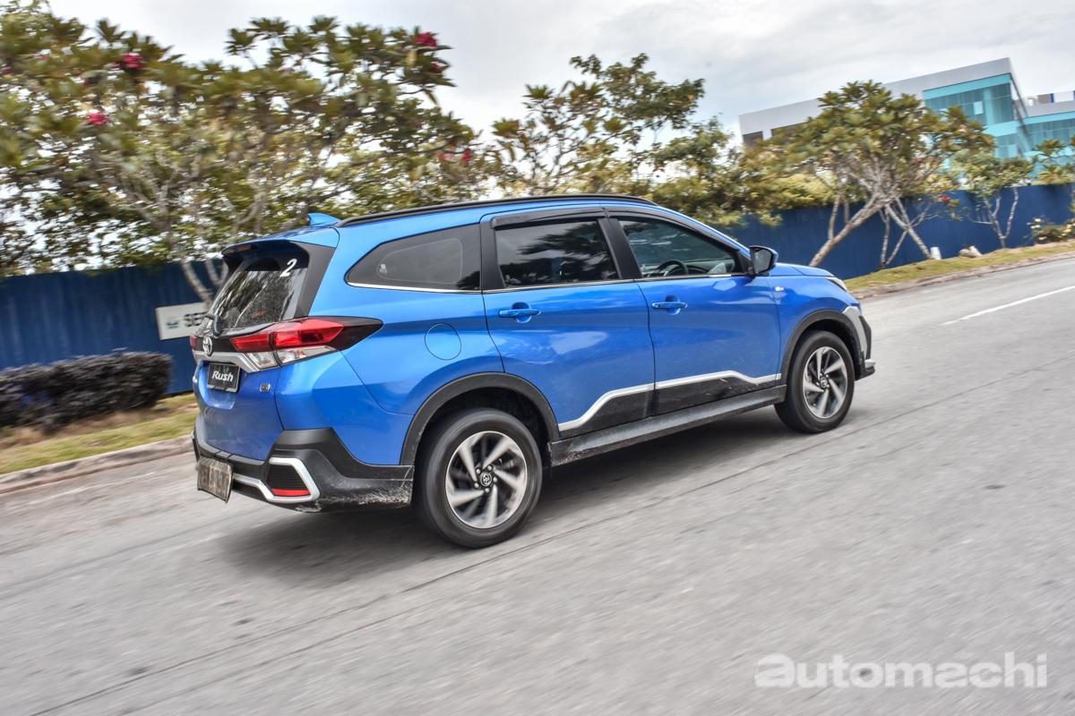 2018 Toyota Rush ,动力是无可争议的短板!