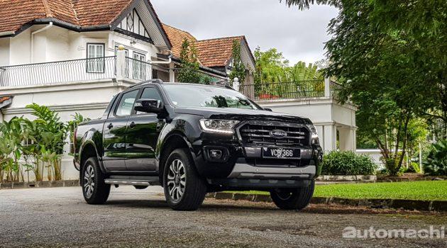 都市硬汉, 2018 Ford Ranger Wildtrak 2WD 试驾!