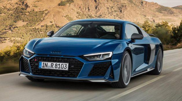 自然进气 V10 完美保留, 2019 Audi R8 正式发表!