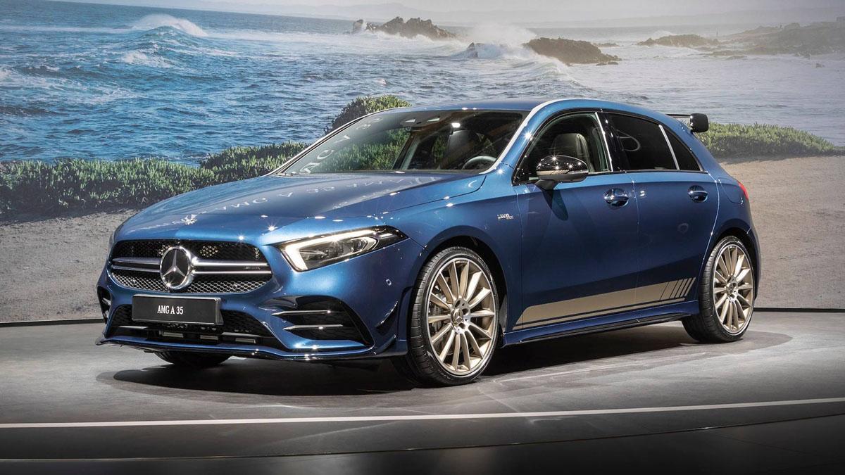巴黎车展:最便宜 AMG? Mercedes-AMG A35 实车现身!