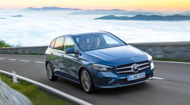巴黎车展: 2019 Mercedes-Benz B Class 正式登场!