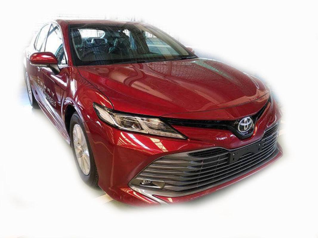 疑似 Toyota Camry XV70 2.0G 现身我国?