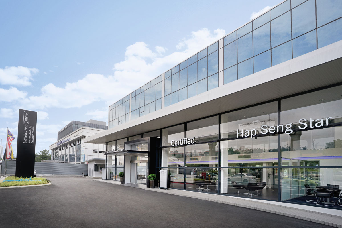 Hap Seng Star 推介全马最大 Pre Owned Mercedes-Benz 销售中心!