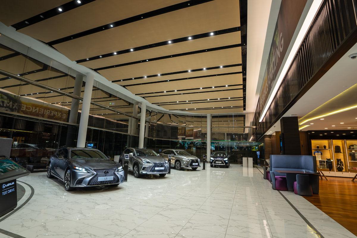 超乎想象的Lexus展示厅带给你独一无二的绝佳体验!