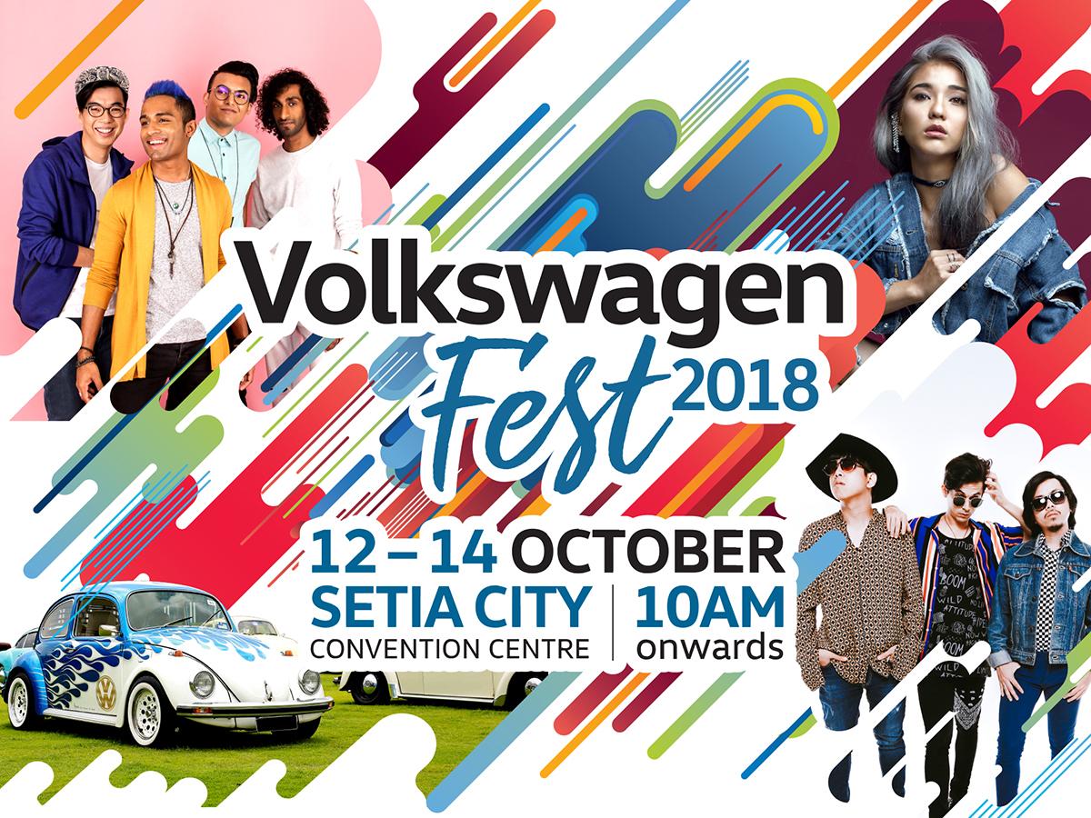 Volkswagen Fest 2018 又来了!要买超值 Volkswagen 车款千万别错过!