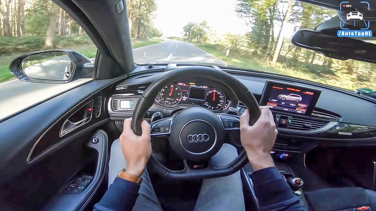 千匹 Wagon !998 hp 的 Audi RS6 Avant 排气好好听!