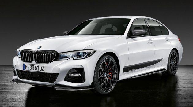 BMW 3 Series G20 M Performance 套件帅气登场!