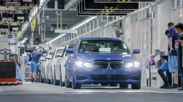 带你去看 BMW 3 Series G20 生产过程!
