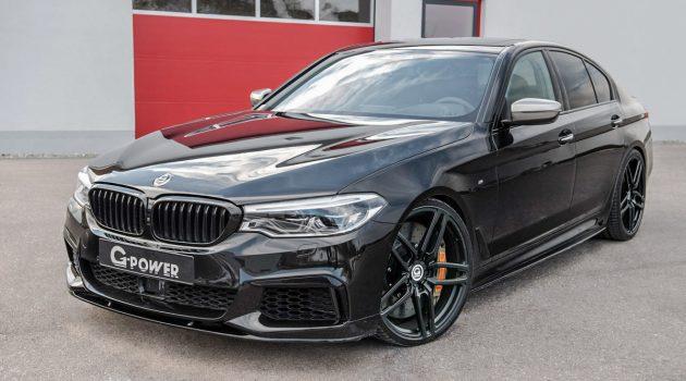 比 M5 还要快! BMW M550i G Power 3.2秒加速破百!