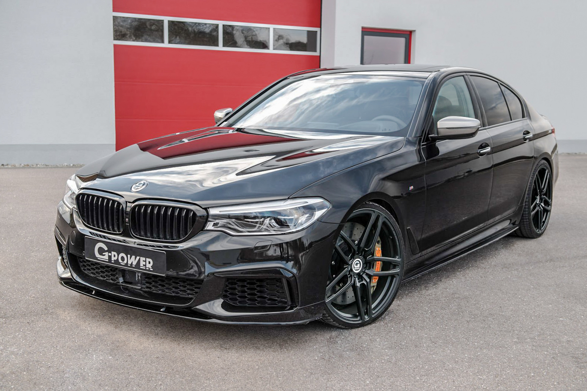 比 M5 还要快! BMW M550i G Power 3.2秒加速破百!