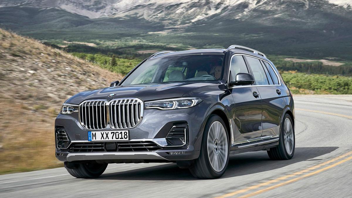 旗舰豪华7人座 SUV , BMW X7 2019 正式发布!