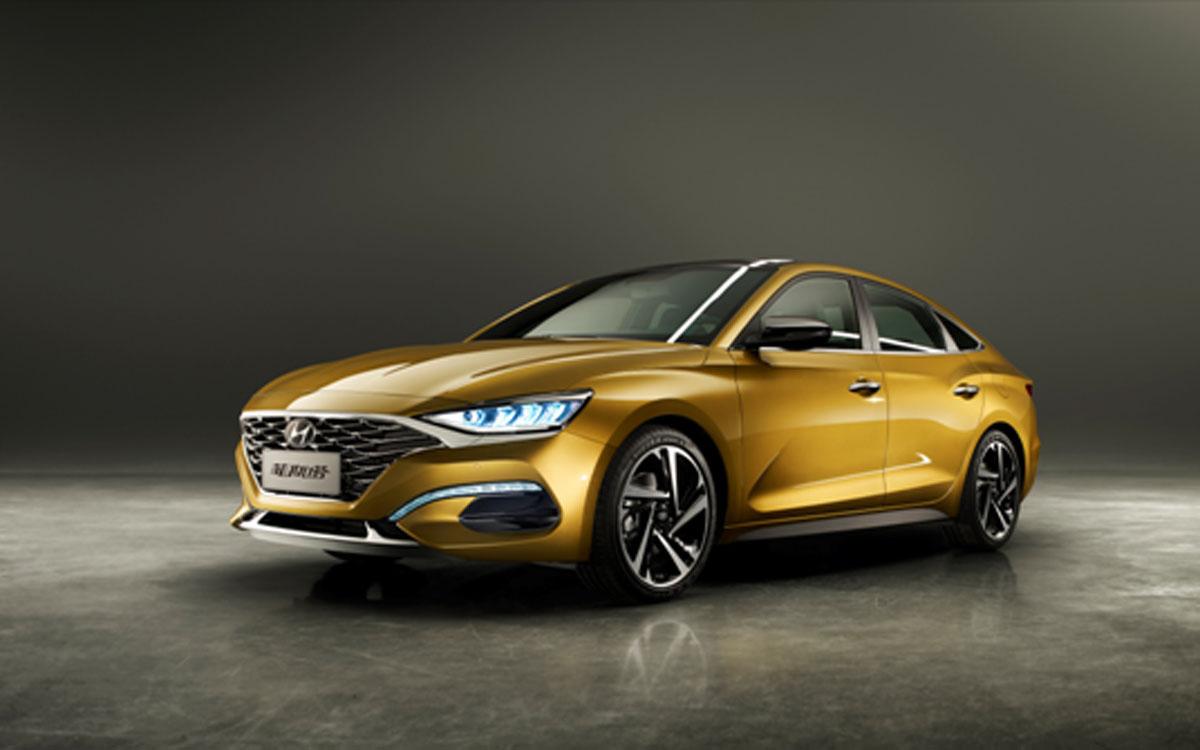 Hyundai La Festa ,比 Elantra 更帅的轿跑车型!